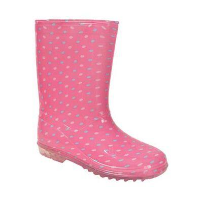 Delias Girls' Polka Dot Rain Boot