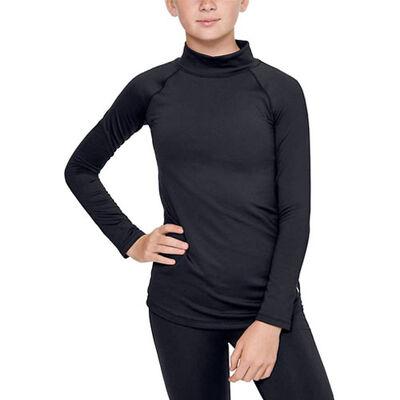 Under Armour Girls' Long Sleeve ColdGear Mock Neck Shirt