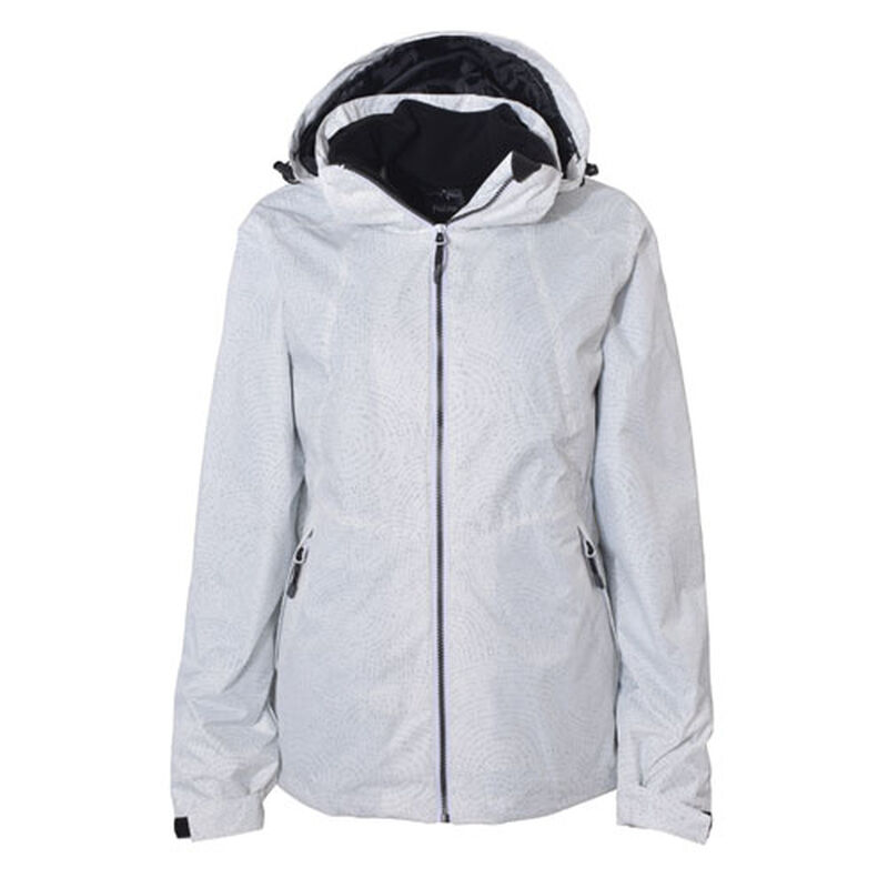 Women's Ivy 3 In 1 System Ski Jacket, White, large image number 0
