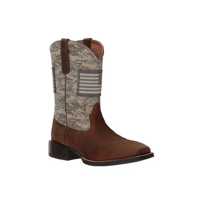 Ariat Men's Sport Patriot Sage & Distressed Boots