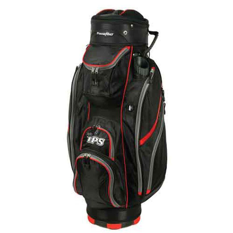 TPS 5400 Deluxe Cart Bag, Black/Red, large image number 0