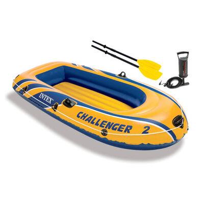 Intex Seahawk 4 Inflatable Boat Set