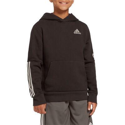 adidas Boys' 3-Stripe Pullover Hoodie