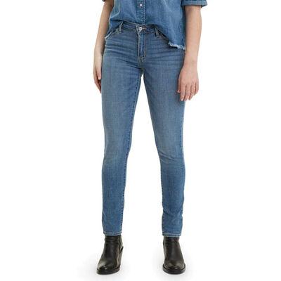 Levi's Women's 711 Skinny Indigo Rays Jeans