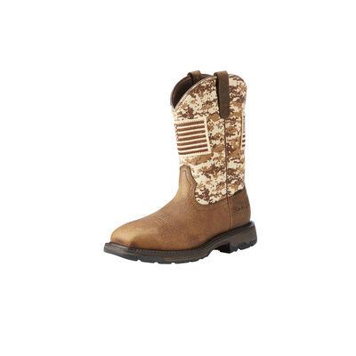 Ariat Men's WorkHog Patriot Steel Toe Work Boots