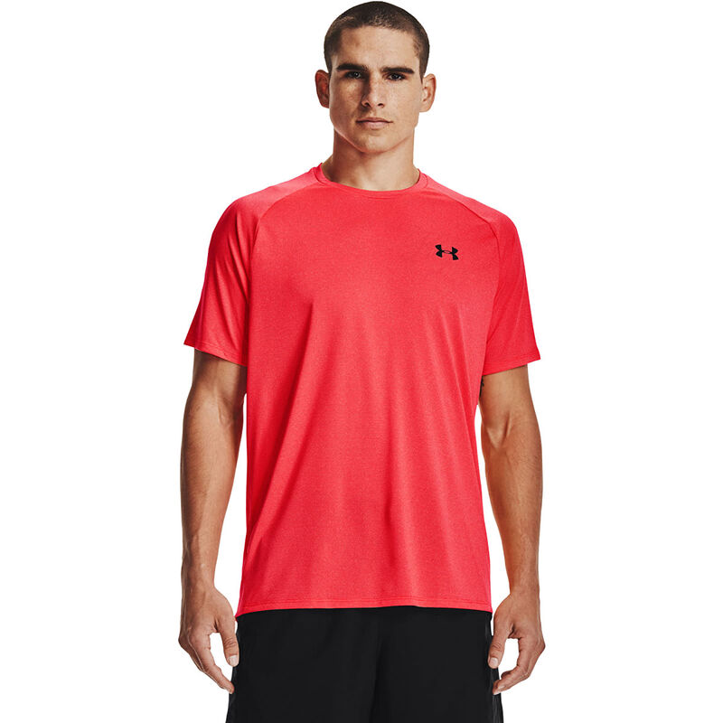 Men's Tech Short Sleeve Tee, Coral, large image number 0