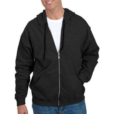 Gildan Men's Long Sleeve Full Zip Hoodie