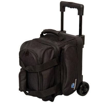 Transport Single Roller Bowling Bag, Black, large