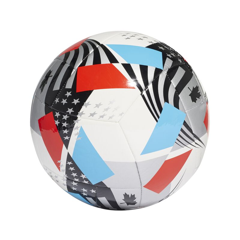 MLS Nativo XXV Club Soccer Ball, Red, White And Blue, large image number 1