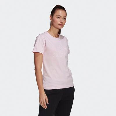 adidas Women's Short Sleeve Floral Tee