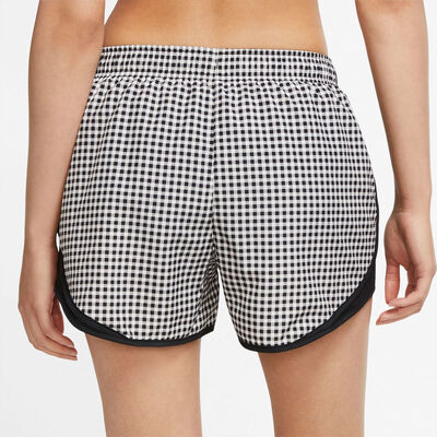 Nike Women's Gingham Print Tempo Shorts