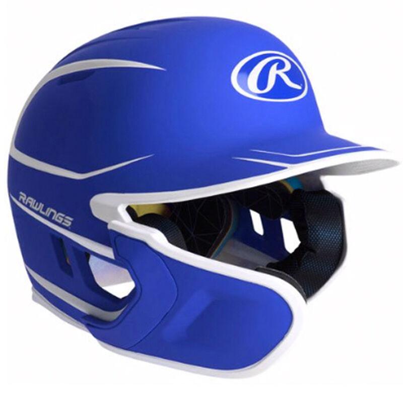 Junior MACH 2-Tone Matte Batting Helmet, Royal Bl,Sapphire,Marine, large image number 0