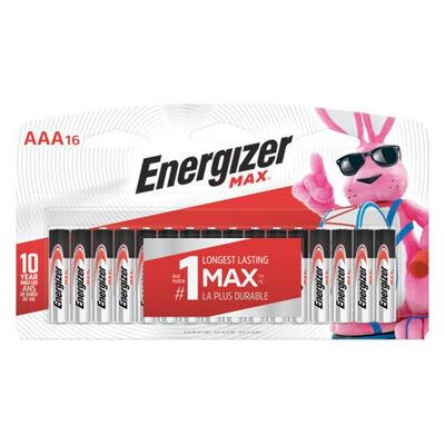 Energizer MAX Alkaline AAA Batteries 16-Pack