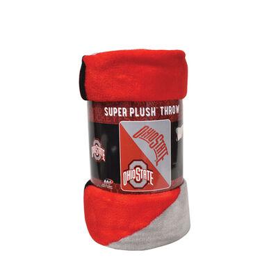 Ohio State Micro Raschl Throw Blanket, , large