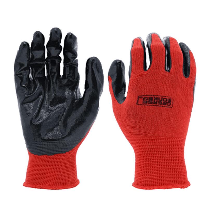 Nitrile Coated Disposable Gloves 10-Pack, , large image number 0
