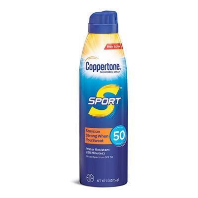 Coppertone Sport Continuous Sunscreen Spray SPF 50