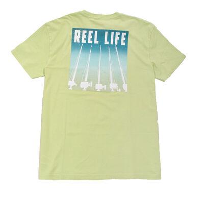 Reel Life Men's Short Sleeve Sunset Rods Tee
