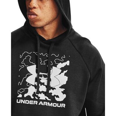 Under Armour Men's Rival Fleece Box Logo Hoodie