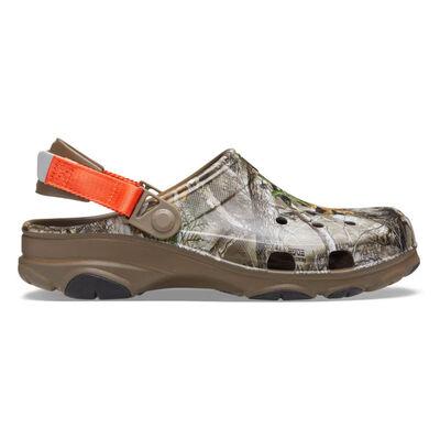 Crocs Men's Classic All-Terrain RealTree Camo Clogs