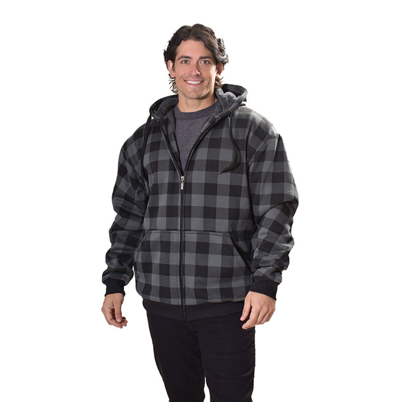 Men's Sherpa Lined Hoodie, , large image number 2