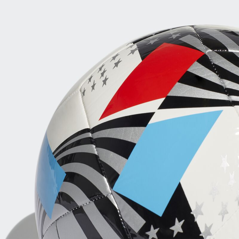 MLS Nativo XXV Club Soccer Ball, Red, White And Blue, large image number 4