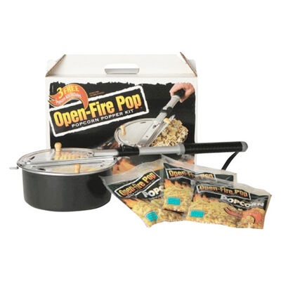 Wabash Valley Open-Fire  Outdoor Popcorn Popping Kit