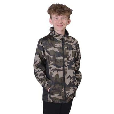 Boys' Camo Yakima Jacket, , large