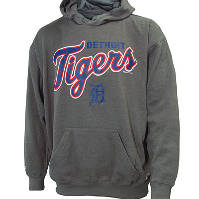 Stiches Men's Detroit Tigers Stitches Pull Over Hoodies