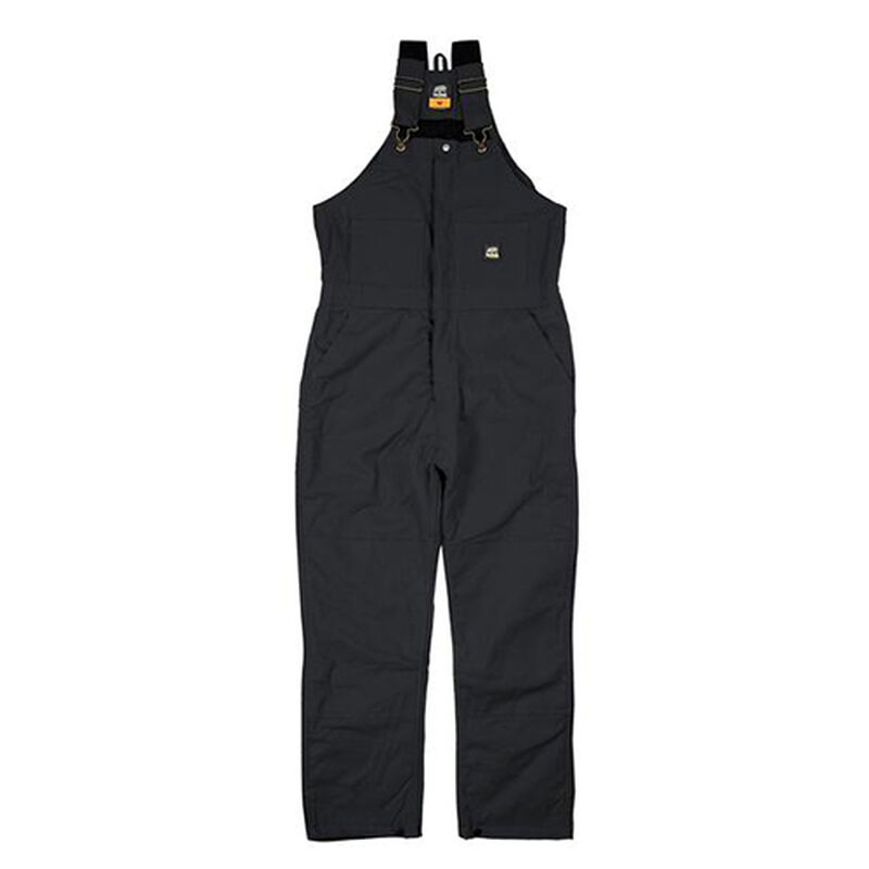 Deluxe Insulated Bib Overalls, Black, large image number 1