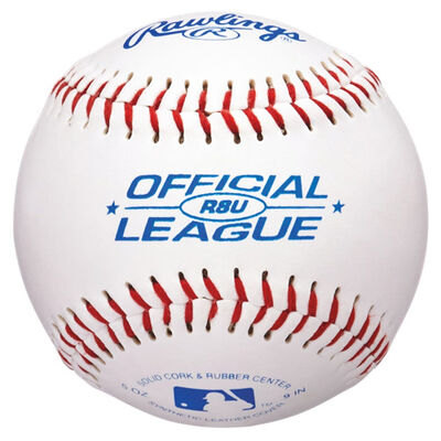 Rawlings 6 Pack R8U Baseballs