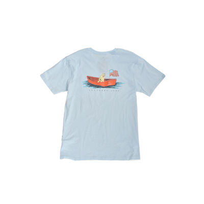 Southern Lure Men's Short Sleeve Dog Boat Tee