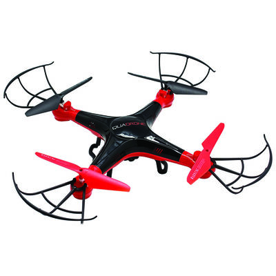 Quadrone Emerse Drone With VR Headset