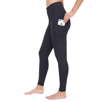 Yogalicious Women's Lux Hi Rise Full Length Leggings with Pocket