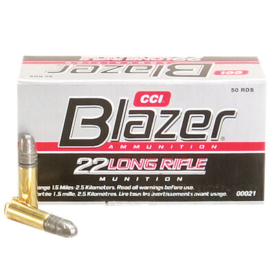 CCI Blazer 22LR 40 Grain LRN Bullets