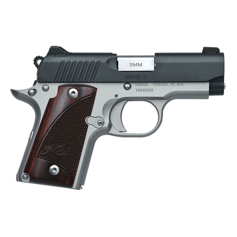 Micro 9MM Two Tone Pistol, , large image number 0