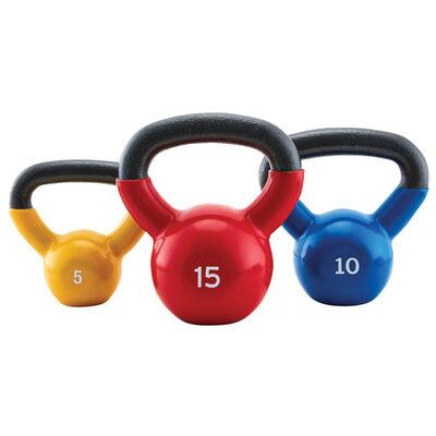 Xprt Fitness 30lb Kettlebell Set