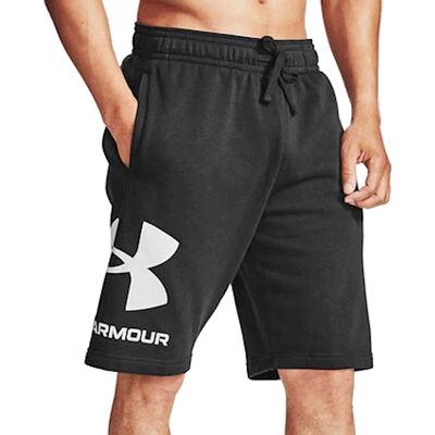 Under Armour Men's UA Rival Fleece Big Logo Shorts