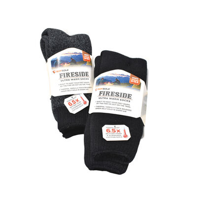 Sofsole Men's Ultra Warm Fireside Socks