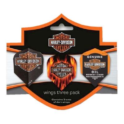 Dart World Harley-Davidson Tri-Flight Dart Flights