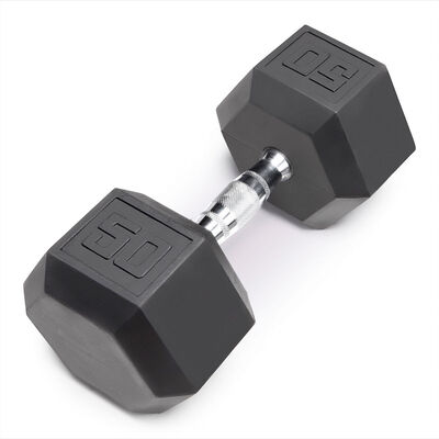 Marcy 50lb. Eco Rubber Hex Dumbbell