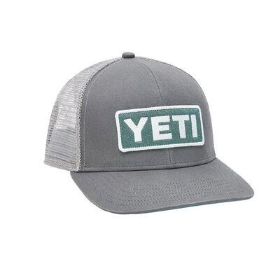 Yeti Mid-Pro Logo Badge Trucker Hat