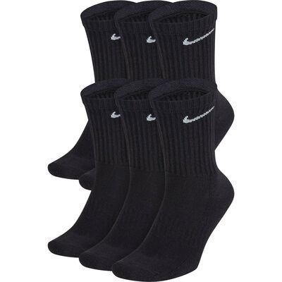 Nike Youth Everyday Cushioned Crew Socks - 6-Pack