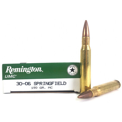 Remington .30-06 Springfield 150 Grain Rifle Ammunition