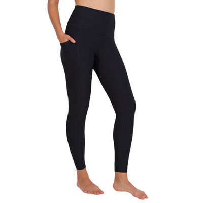 Yogalicious Women's Nude Tech 7/8 High Waist Pocket Legging