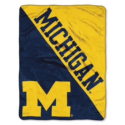 Northwest Co Michigan Micro Raschel Throw Blanket