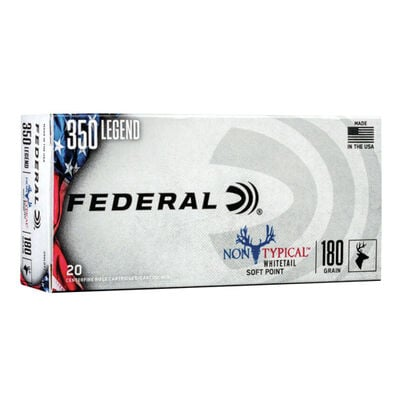 Federal Non-Typical 350 Legend Ammo
