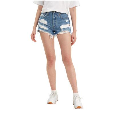 Levi's Women's 501 Original Distressed Shorts