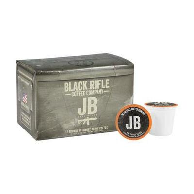 Black Rifle Coffee Co Just Black Coffee Rounds 12ct Box