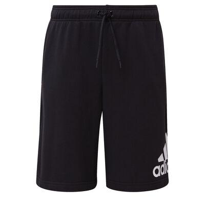 Men's Must Haves Badge of Sport Shorts, Black/White, large