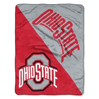 Northwest Co Ohio State Micro Raschl Throw Blanket